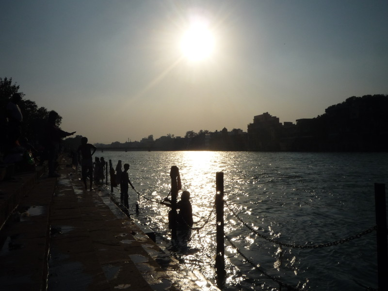 Sunset view of Ganga