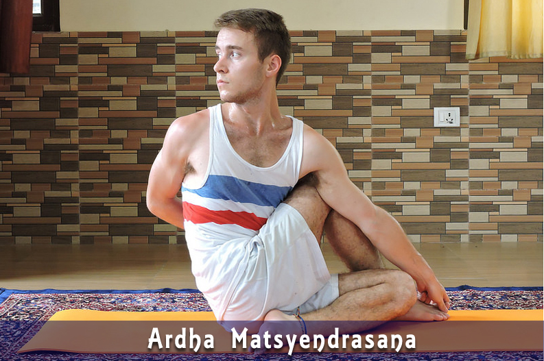 ArdhaMatsyendrasana