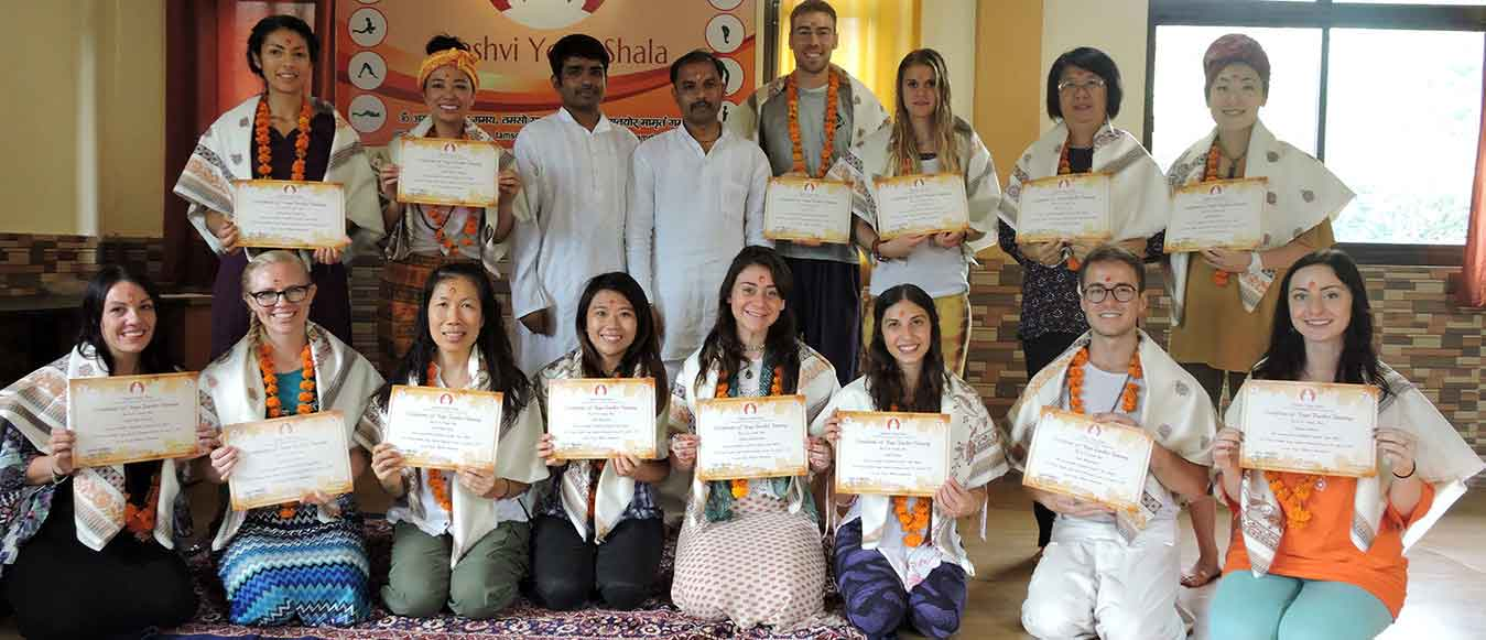 200 Hours Yoga Teacher Training Centre in Rishikesh, India