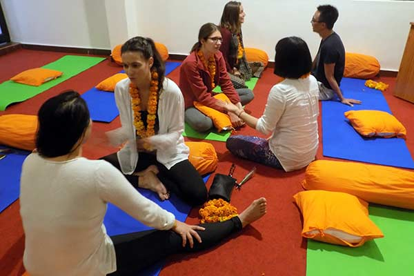 300 Hours Yoga Teacher Training - Opening Ceremony of November Batch 2016