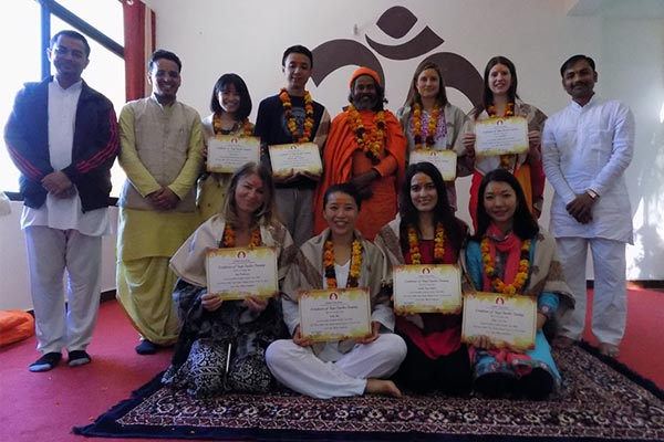 Closing Ceremony - 300 Hours Yoga Teacher Training Batch 2016
