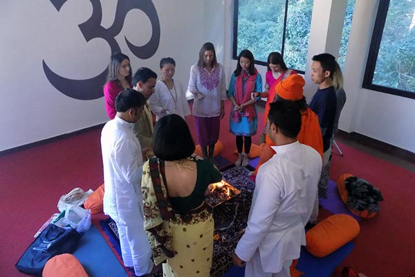Closing Ceremony - 300 Hours Yoga Teacher Training November Batch 2016