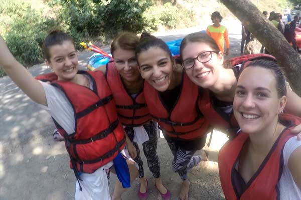 Rafting in Ganges
