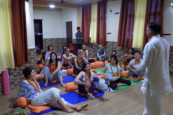 Opening Ceremony - 200 Hours Yoga Teacher Training June Batch 2017
