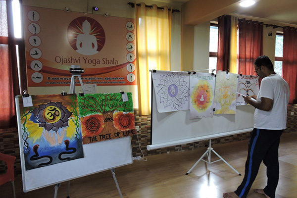 Poster Presentations at Yoga Hall