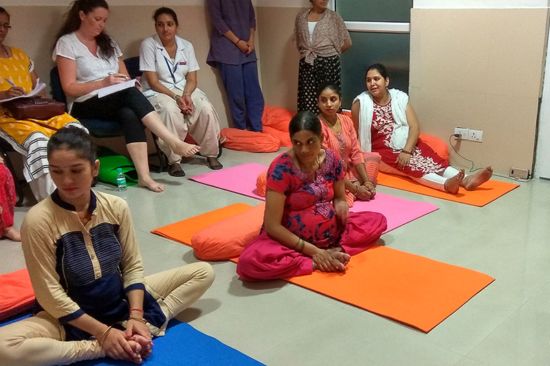 Prenatal Workshop at AIIMS in Rishikesh, India