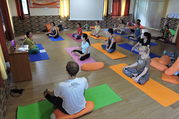 Yoga Asana Practice at Yoga Hall