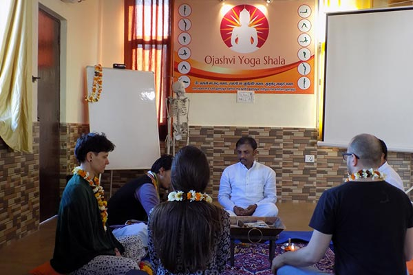 Opening Ceremony - 200 and 500 Hours Yoga Teacher Training March Batch 2017