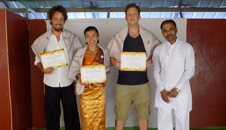 200 Hours Hatha Yoga Certification in Kerala India
