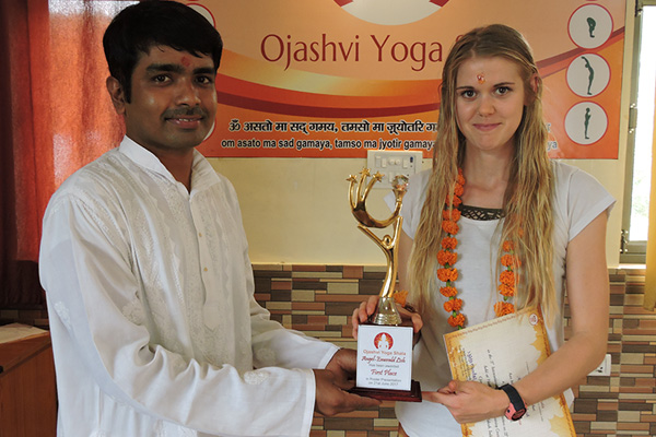 Closing Ceremony - 200 Hours Yoga Teacher Training - June Batch 2017