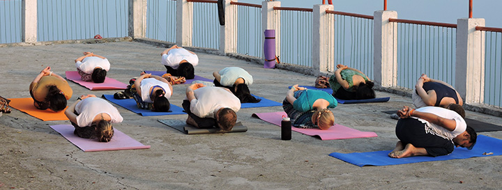 Yoga for Beginers in Rishikesh, India