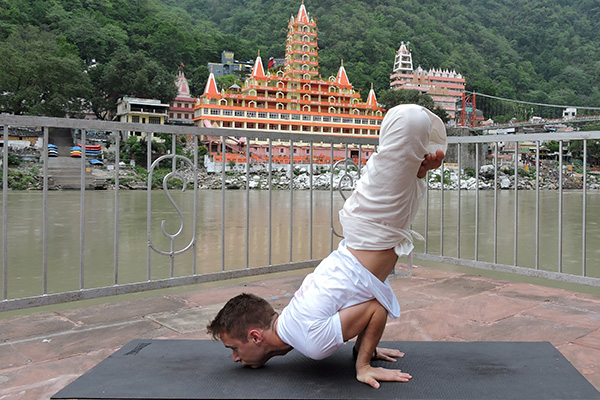 Yoga Practice at Ganges