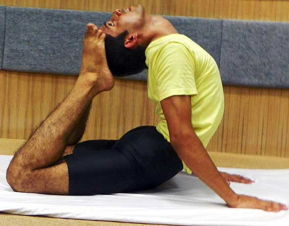 Bhujangasana-iii - Ganesh Prasad Yoga Teacher in Rishikesh
