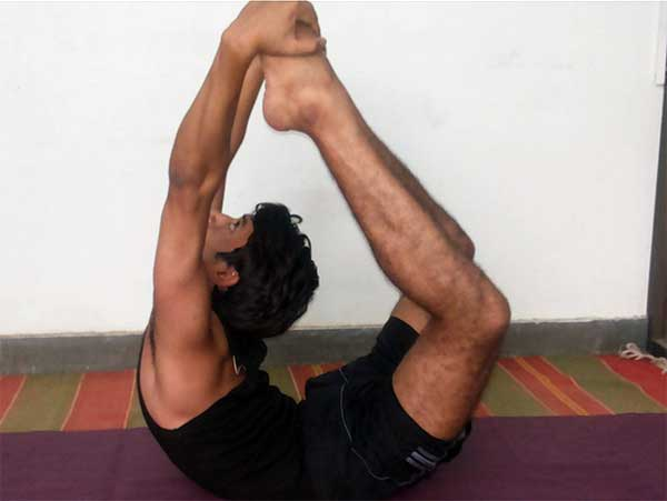 Dhanurasana - Ganesh Prasad Yoga Teacher in Rishikesh