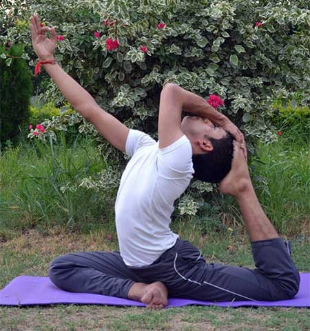 Ganesh Prasad Yoga Teacher in Rishikesh